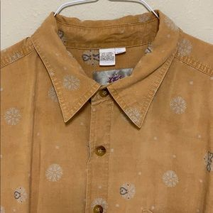 The Territory Ahead men's button front shirt XXL